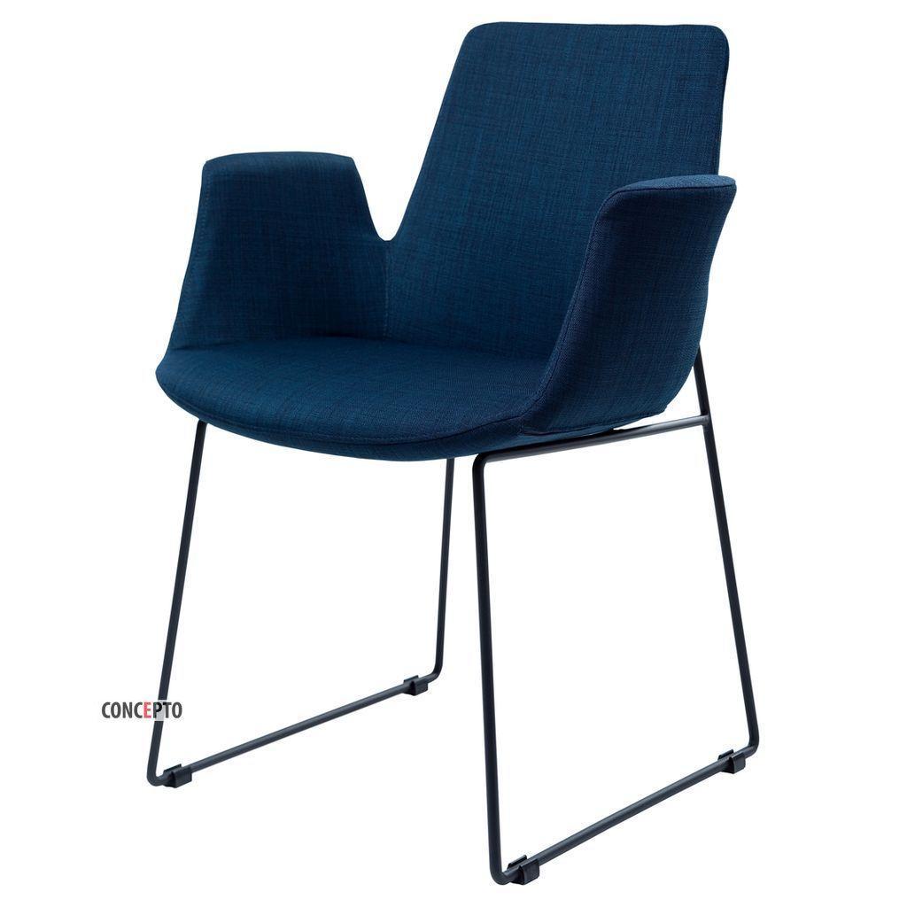 Ostin (Остин) Concepto кресло мягкое синее