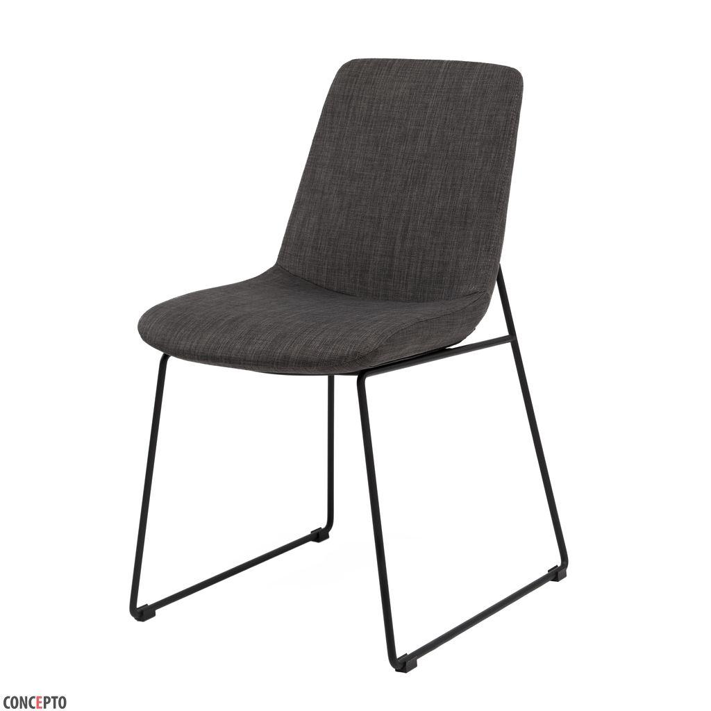 Ostin (Остин) Concepto стул текстиль тёмно-серый