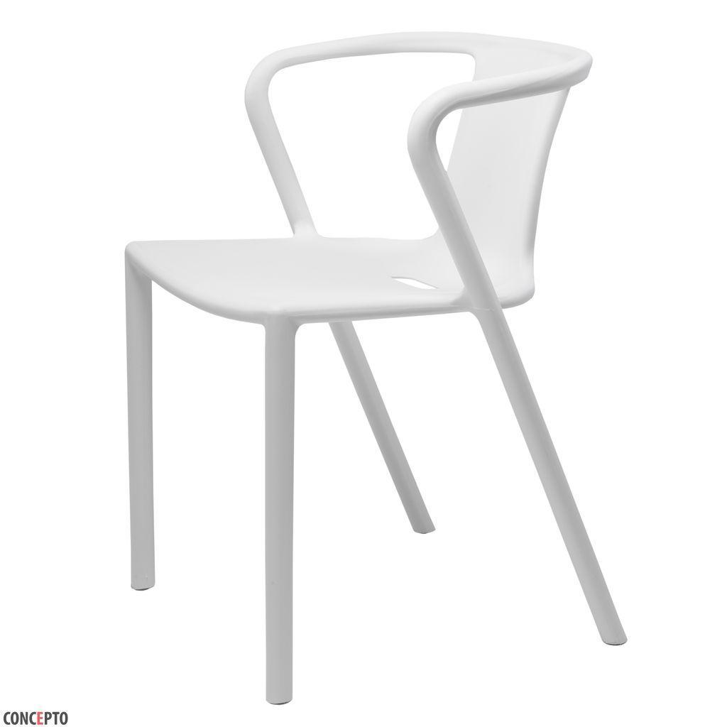 Space (Спейс) Concepto cтул пластиковый белый