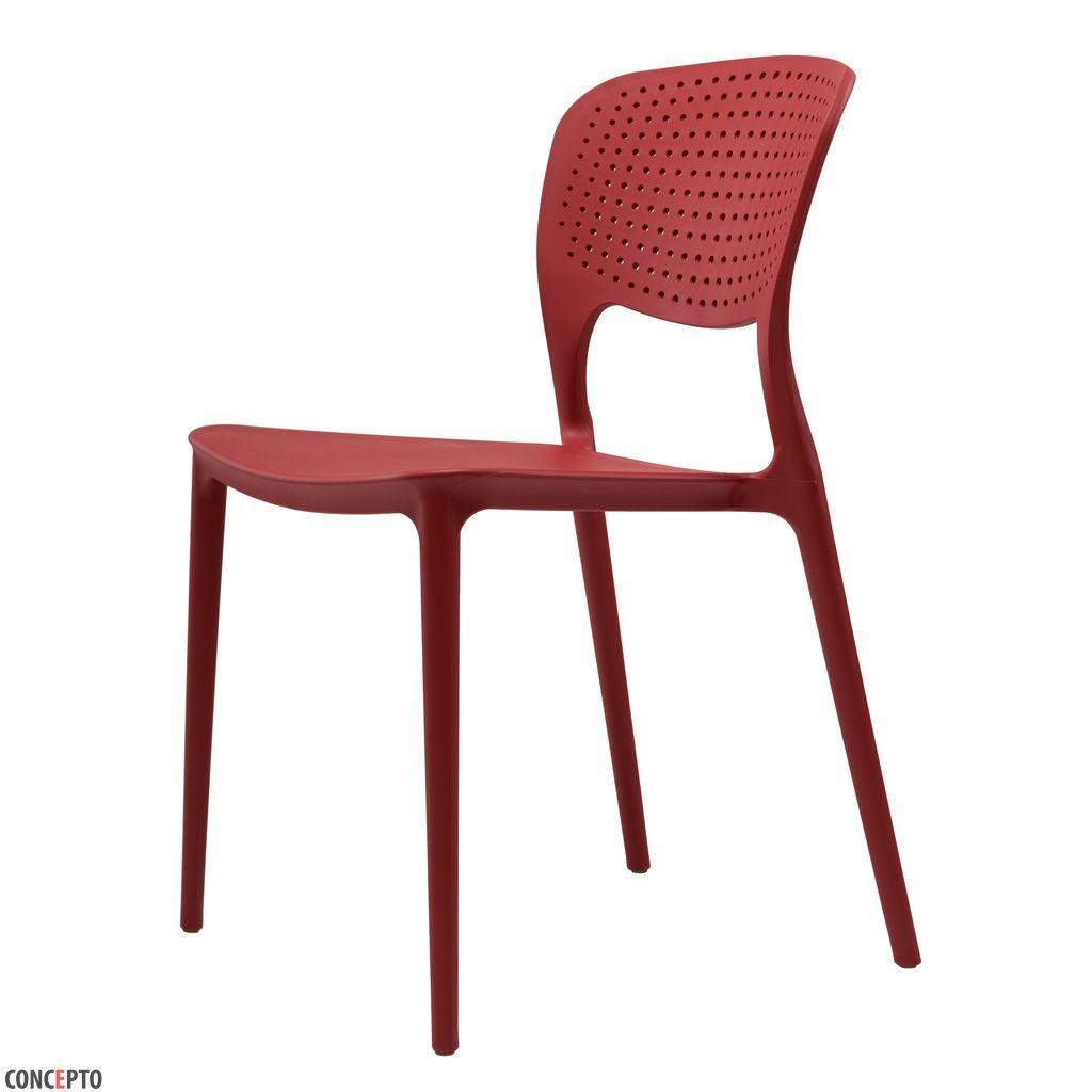 Spark (Спарк) Concepto cтул пластиковый красный кармин