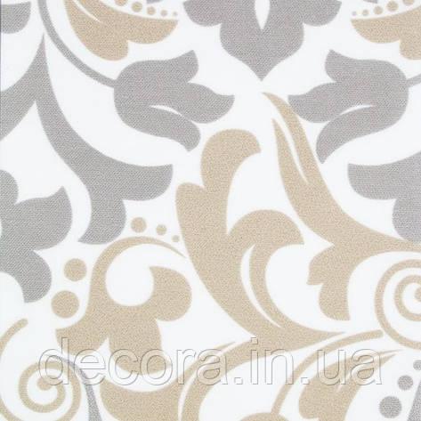 Рулонні штори міні Barocco 03 Grey, фото 2