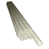 Труба пвх 2м - для встроенного пылесоса
