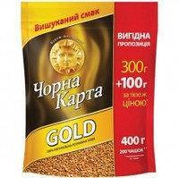 Кофе растворимый Черная Карта GOLD 300+100г