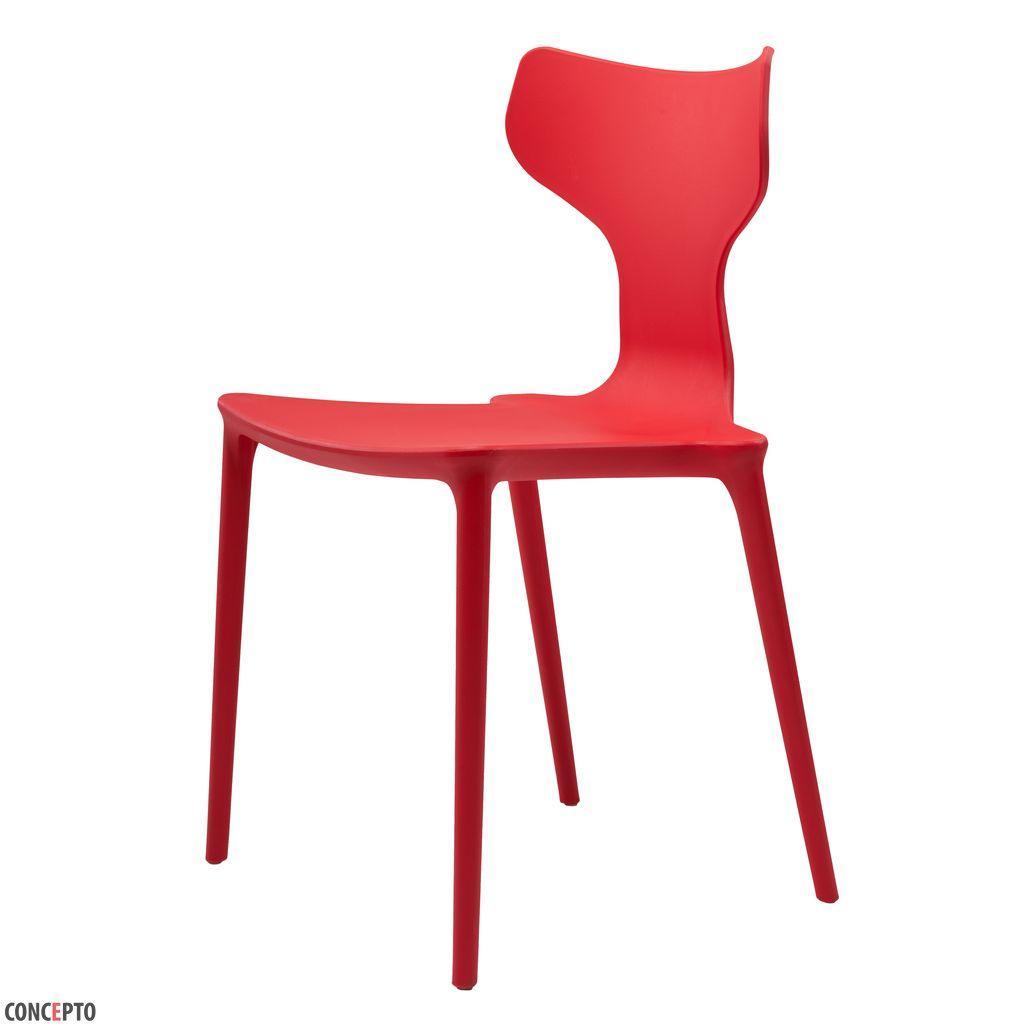 Yuki (Юки) Concepto cтул пластиковый красный