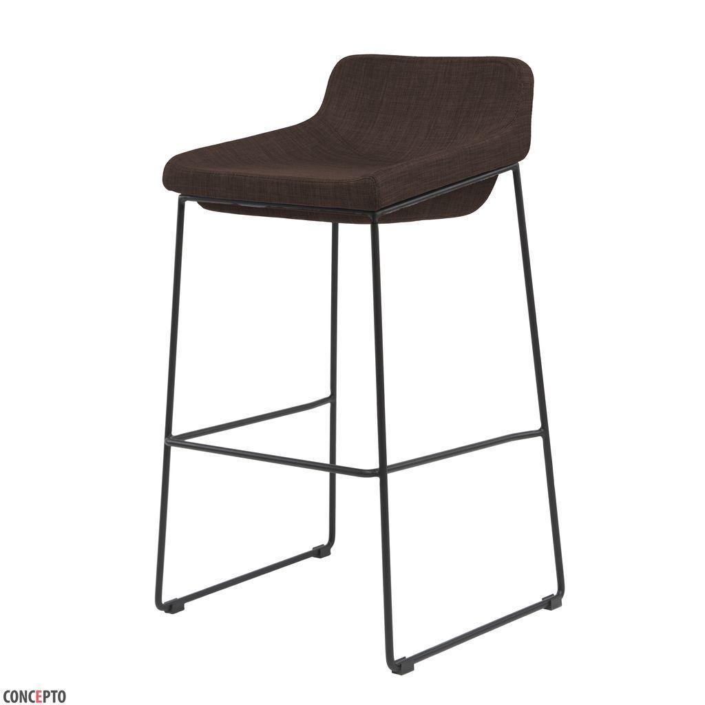 Comfy (Комфи) Concepto барный стул мягкий коричневый