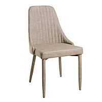Alanis (Аланис) стул кожзам бежевый лён, фото 1
