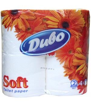 Туалетная бумага на гильзе целл ДИВО