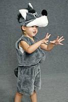 Детский карнавальный костюм Серый Волк Код:342-3233106