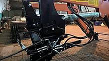 Погрузчик Фронтальный Быстросъёмный НТ-1200 КУН на МТЗ С Джойстиком., фото 3