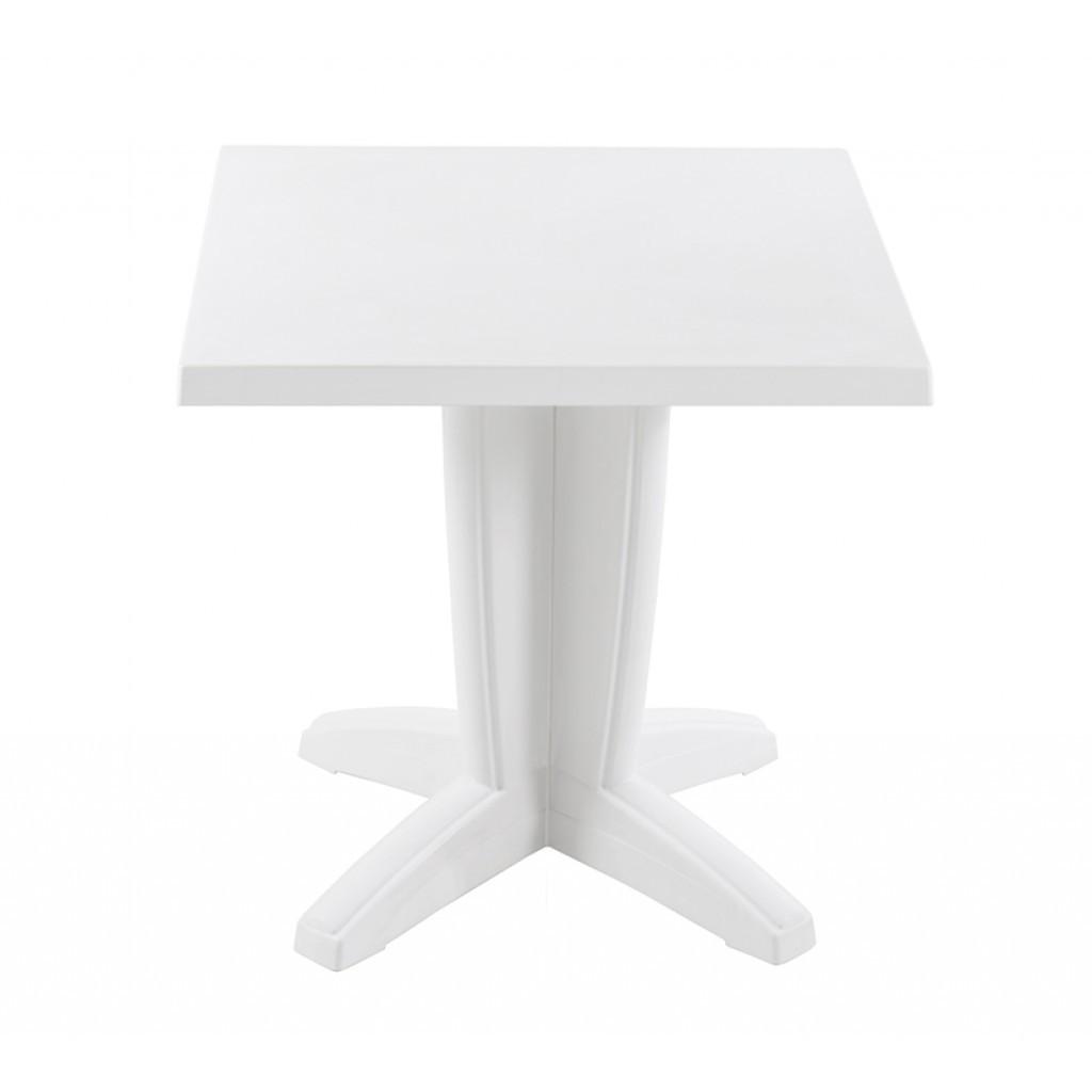 Bravo (Браво) стол пластиковый квадратный 70 см белый