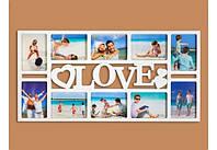 Фотоколлаж на 10 фото Любовь Код:117-1083298