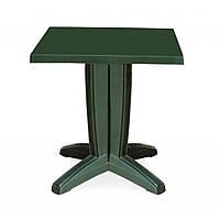 Bravo (Браво) стол пластиковый квадратный 70 см зелёный