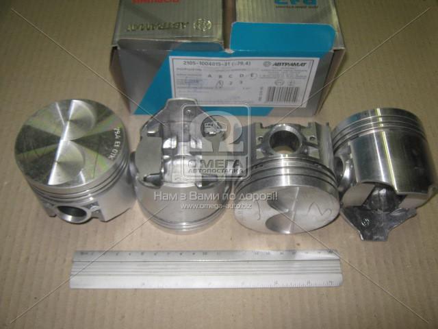 Поршень цилиндра ВАЗ 2105 d=79,4 гр.E М/К (производство Автрамат) (арт. 2105-1004015-АР), ACHZX