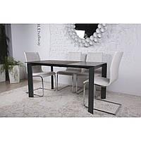 Bristol B (Бристоль) стол раскладной 130-200 см графит