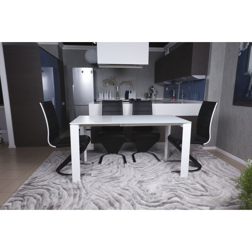 Bristol S (Бристоль) стол раскладной 100-150 см белый