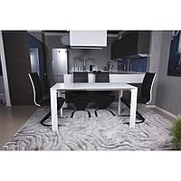 Bristol S (Бристоль) стол раскладной 100-150 см белый, фото 1