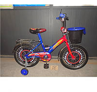 Детский двухколесный велосипед Azimut Тачки 12 дюймов для мальчика