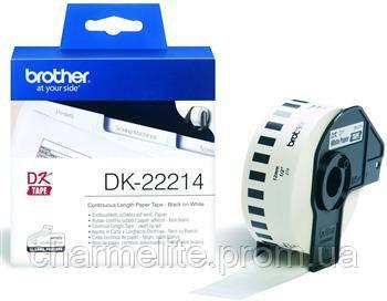 Картридж Brother для специализированного принтера QL-1060N/QL-570/QL-800 (12mm x 30.48M)