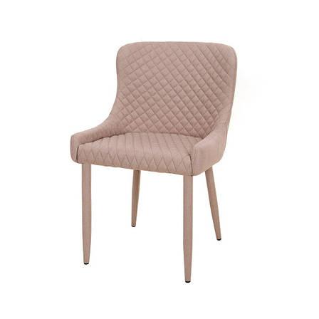 Charlotte (Шарлотта) стул мягкий молочный, фото 2