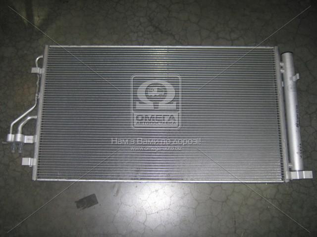 Радиатор кондиционера в сборе Hyundai Tucson 10-/Kia Carens 13-/Sportage 10- (производство Mobis) (арт. 976062Y501), AHHZX