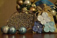 Ароматическое саше для дома Голубая лаванда Код:118-1089966