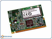 Сетевая карта Wifi модуль для ноутбука MiniPci Broadcom bcm94318MPG BRCM1016 802.11 b,g, 54Mbps