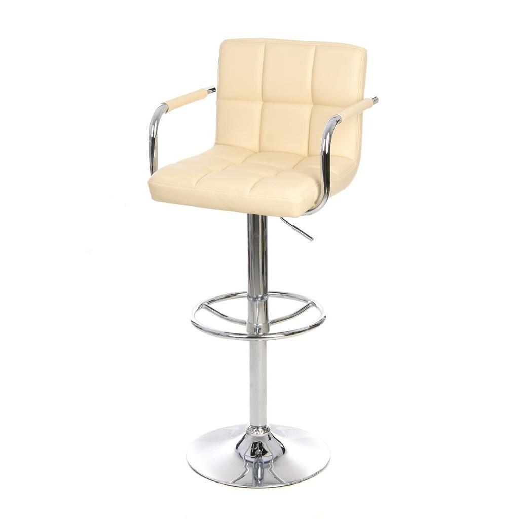 Daniel (Даниэль) барный стул с подлокотниками бежевый