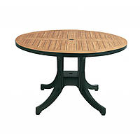 Diva (Дива) стол пластиковый круглый Д105 см зелёный