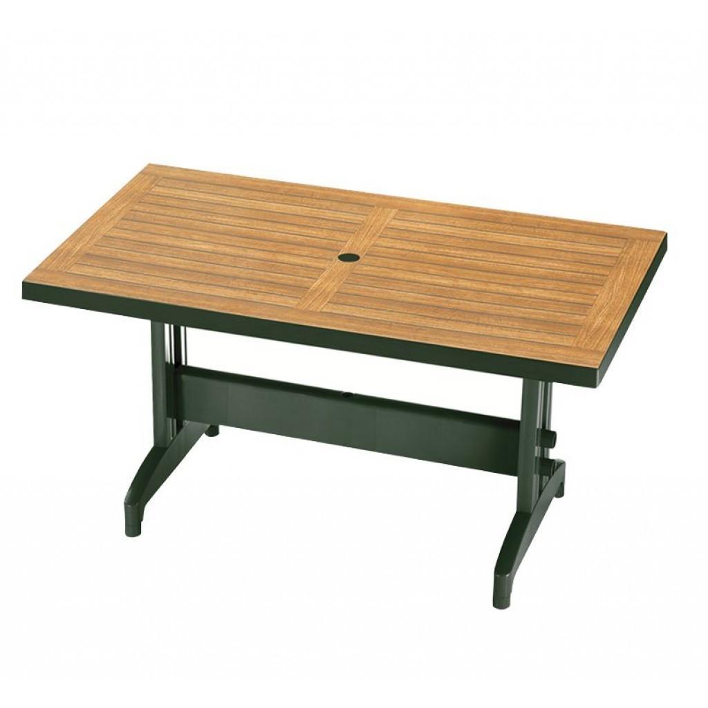 Diva (Дива) стол пластиковый прямоугольный 120 см зелёный
