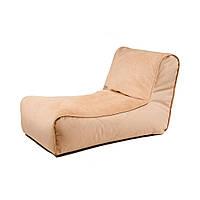 Duo Elite (Дуо Элит) бескаркасное кресло-лежак велюр, фото 1