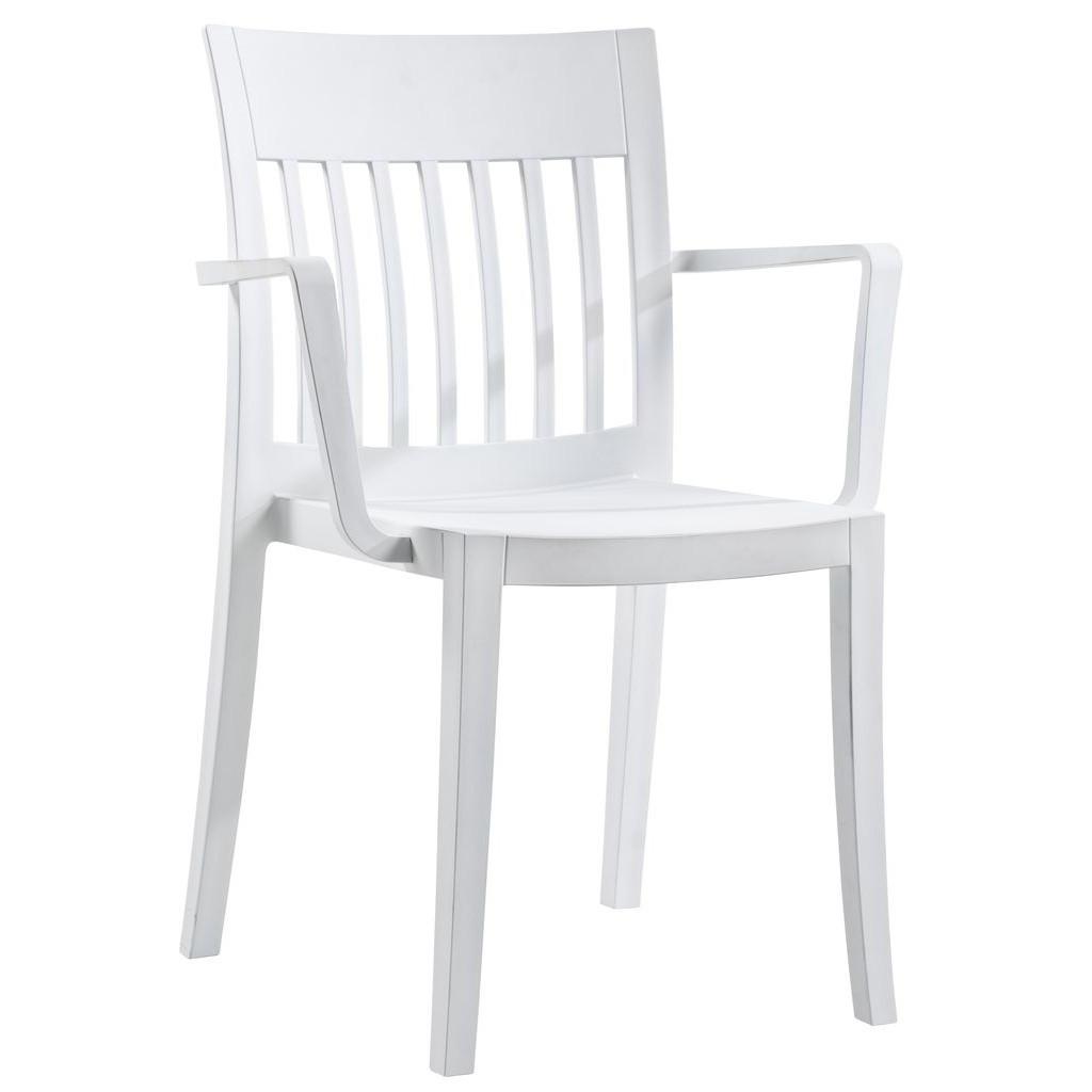 Eden K (Эден К) кресло пластиковое белое