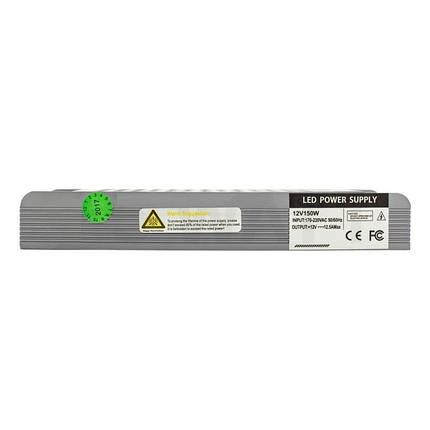 Блок питания 150W Professional для светодиодной ленты DC12 BPU-150 12,5А, фото 2