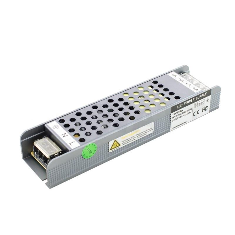 Блок питания 150W Professional для светодиодной ленты DC12 BPU-150 12,5А