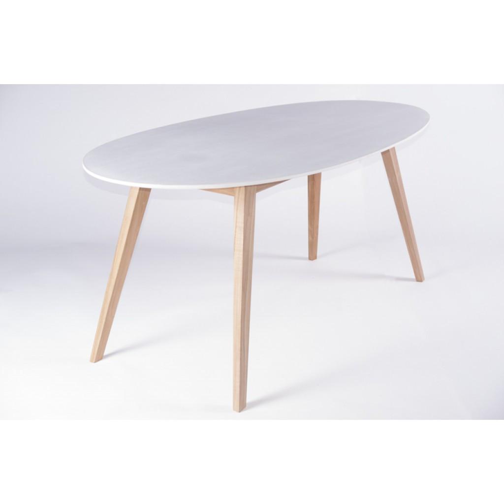 Ei (Эи) стол обеденный белый/дерево