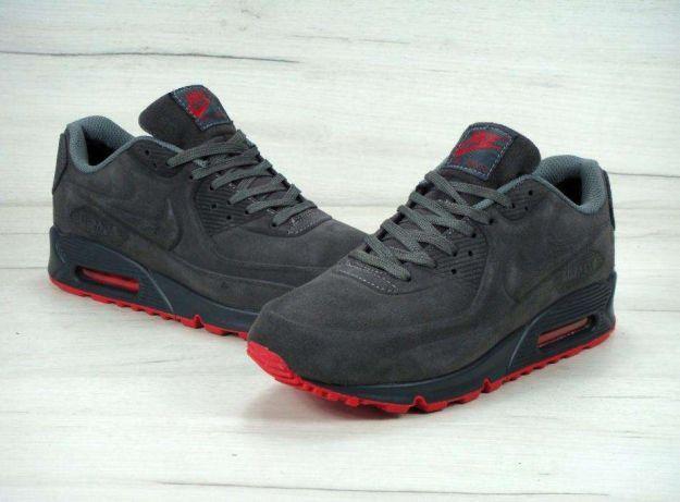 Мужские кроссовки Nike Air Max 90 VT Tweed серые - Интернет магазин  krossovkiweb.kiev. ea0701cc544