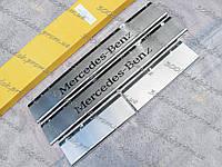 MERCEDES ML-CLASS W164 2005—2011 Накладки на пороги