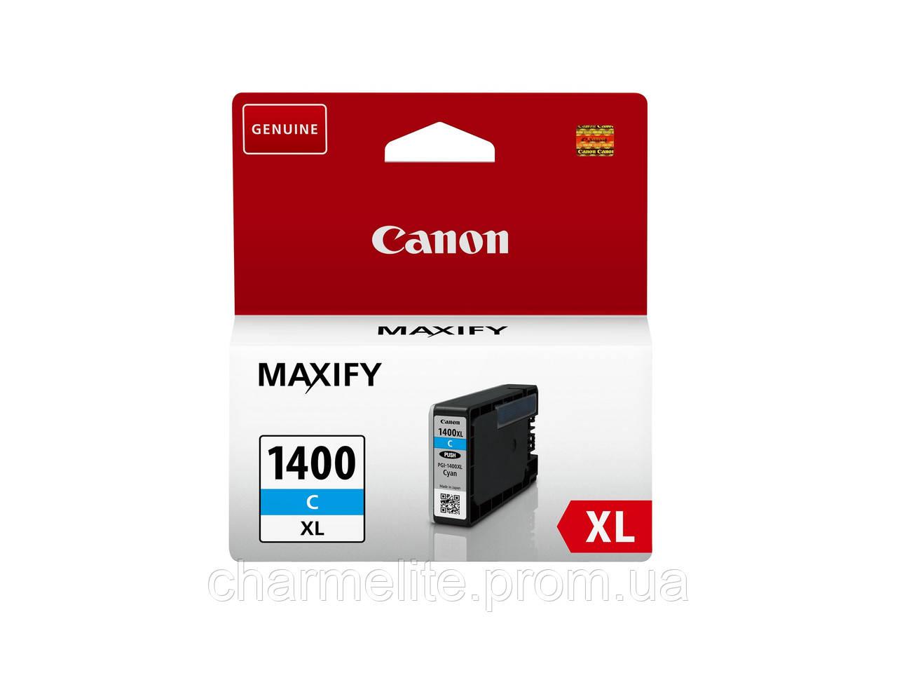 Картридж Canon PGI-1400 XL MB2040/MB2340 Cyan