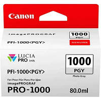 Чернильница Canon PFI-1000PGY (Photo Grey)