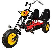 Карт- трицикл детский Bambi M 1506-3 двухместный