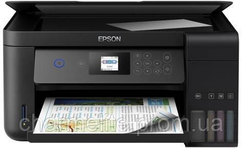 МФУ А4 Epson L4160 Фабрика печати c WI-FI