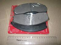 Колодки тормозные дисковые (F) KIA PREGIO, CARNIVAL (Korea) (пр-во SPEEDMATE), ACHZX