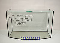 Овальный аквариум 80см-35-50 130л.Пересылка по Украине