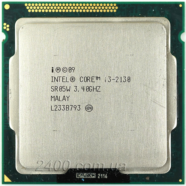 Процессор Intel Core i3-2130 3.4GHz/5GT/s/3MB Socket 1155