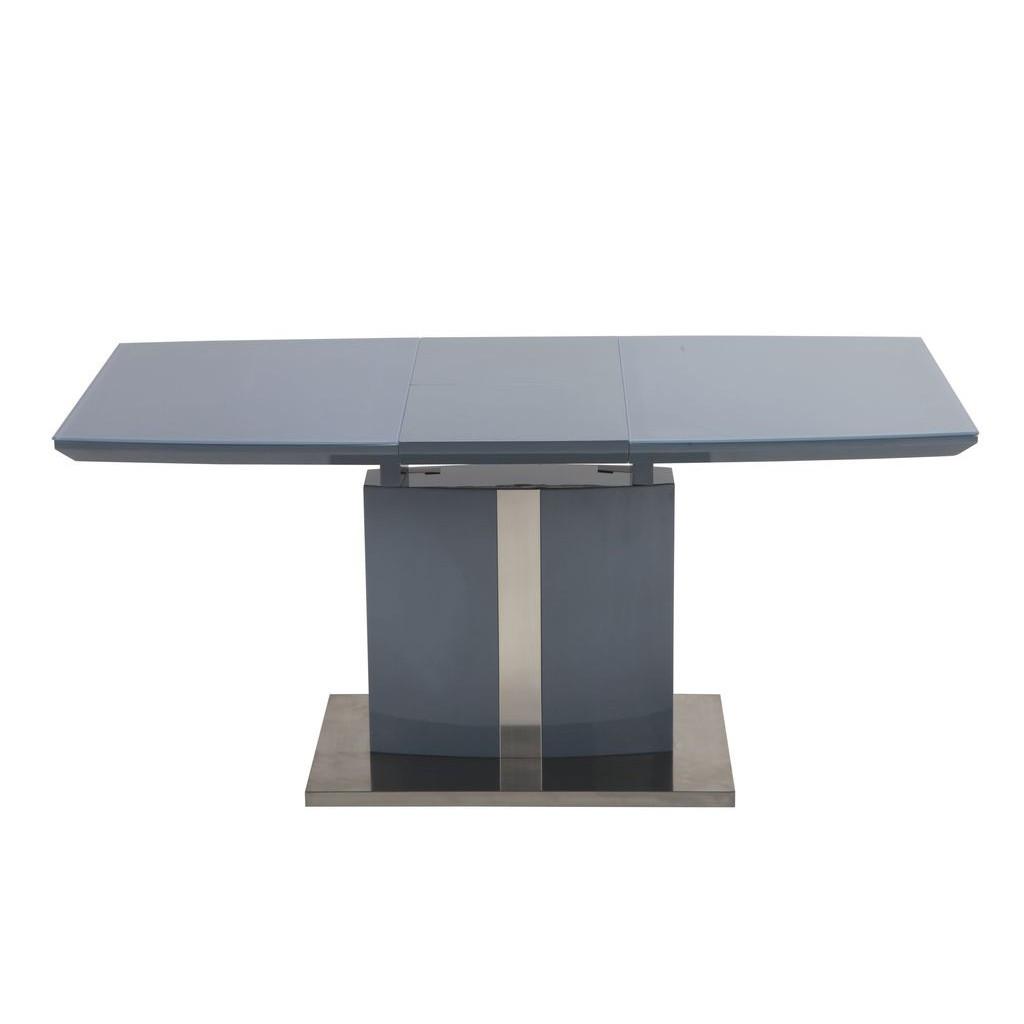 Konrad (Конрад) стол раскладной графит 120-160 см