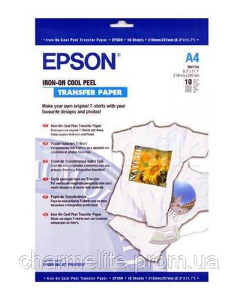 Бумага Epson A4 Iron-On Cool Peel Transfer Paper, 10л.