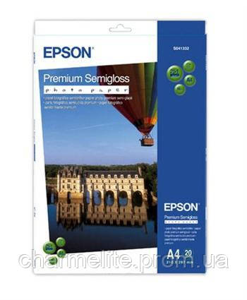 Бумага Epson A4 Premium Semigloss Photo Paper, 20л.