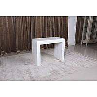 Manchester (Манчестер) обеденный стол-консоль 45-200 см белый