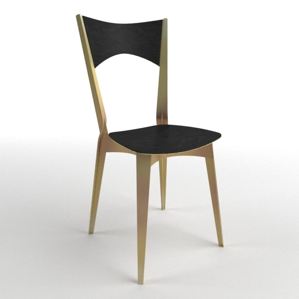 Model-T Bronze (Модел-T Бронз) стул бронзовый
