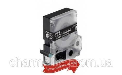 Картридж с лентой Epson LC-5BWV9 принтеров LW-400/400VP/700/900P Яркая Blk/Wh 18mm/9m