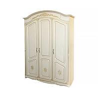 Шкаф трехдверный Гармония МДФ патина (Альфа мебель) 1525х560х2240мм